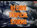 The most tropical cyclones at one time in the N. Pacific since 1974 + Solar Update GSM