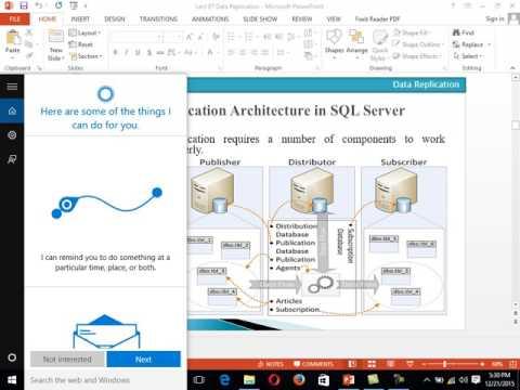 Replication in SQL Server