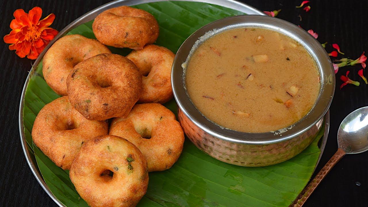 மிக்ஸியில் எண்ணெய் குடிக்காத மெதுவடை(Secret Tips) & பாயசமும்   vadai in tamil   payasam in tamil