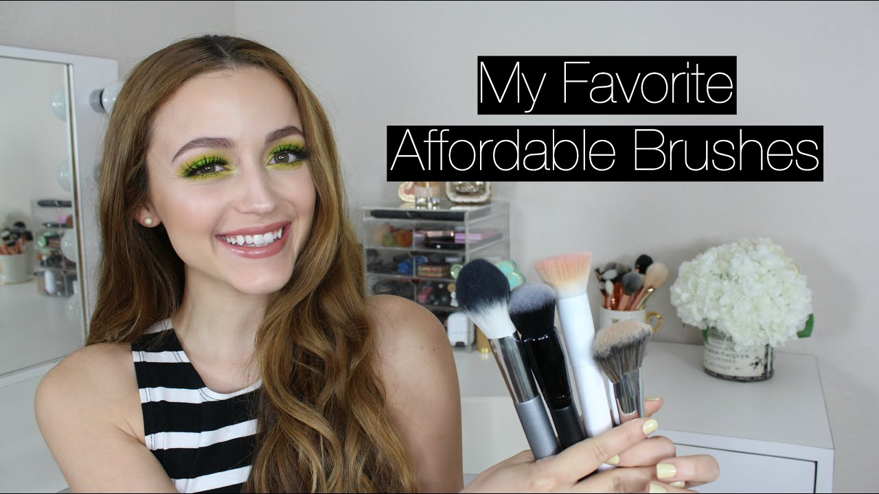 UPDATED | Best Drugstore/ Affordable Makeup Brushes - YouTube