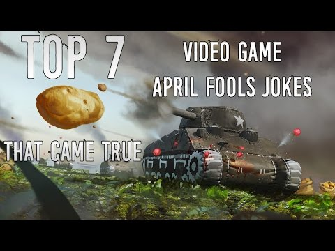 Top 7 Video Game April Fools Jokes that came true