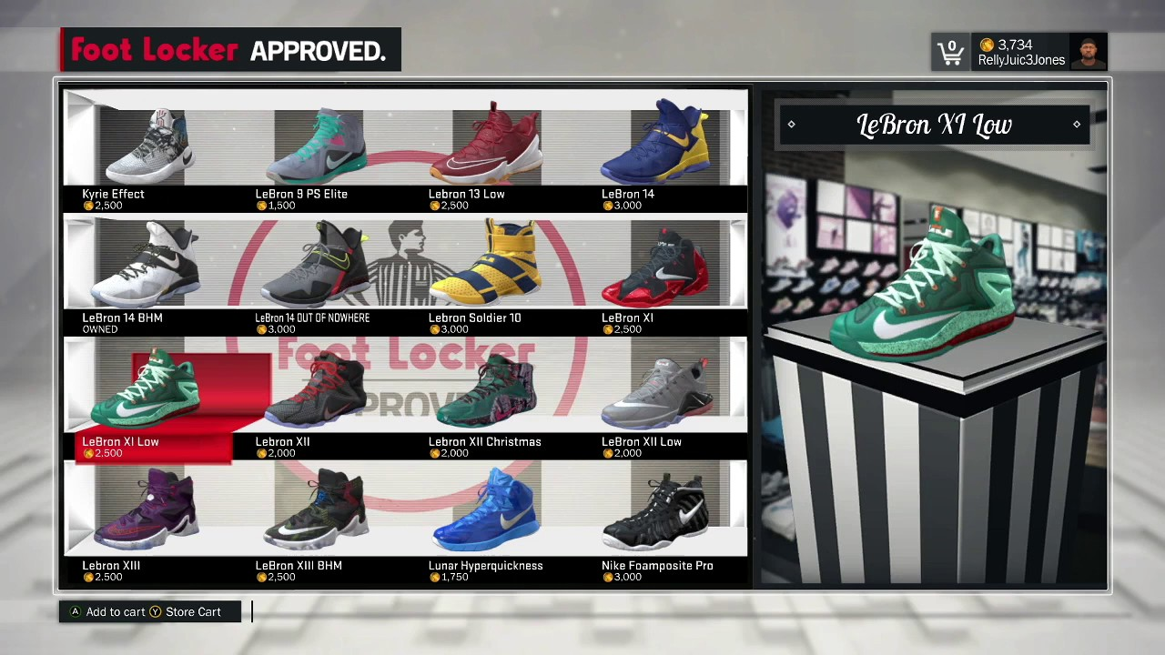009deff29c90 NBA 2k17- Shoe Creator  How to get Nike Air Zoom Generation (Lebron ...