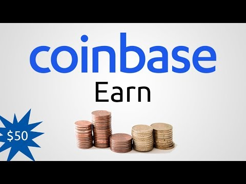 Coinbase Earn Review: Make $50 in an Hour!