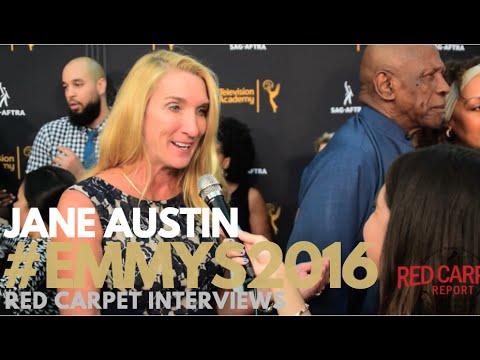 Jane Austin interviewed at the 4th Annual Dynamic & Diverse Celebration #Emmys #SAGAFTRA