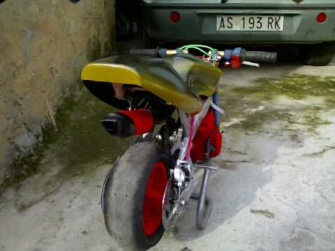 Minimoto Tuning Sardegna Mini Bike Pocket Bike Assemini 50