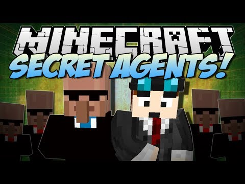 Minecraft | SECRET AGENTS! (Exploding Pens, Amazing Gadgets & More!) | Mod Showcase