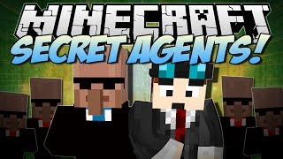 Minecraft | SECRET AGENTS! (Exploding Pens, Amazing Gadgets & More!) | Mod Showcase thumbnail