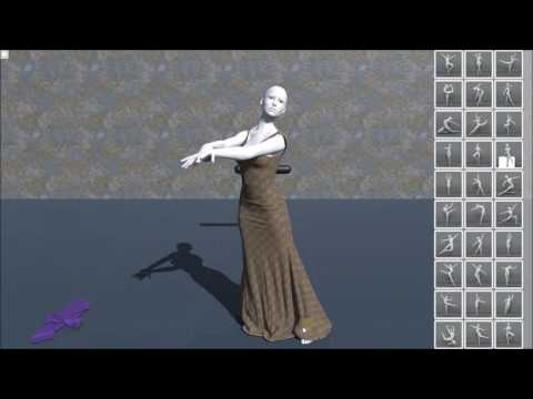 Interactive Cloth Simulation