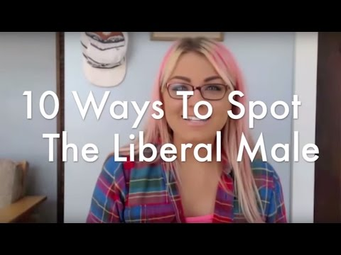 New Voices: 10 Ways To Spot A Liberal Male