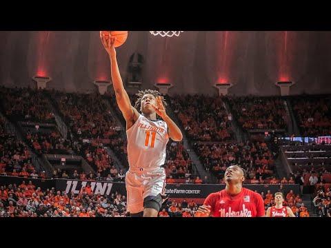 Illinois Basketball | Highlights vs. Nebraska 2/24/20