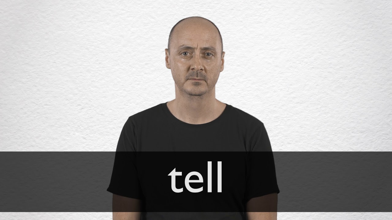 "Hindi Translation of ""tell"" 