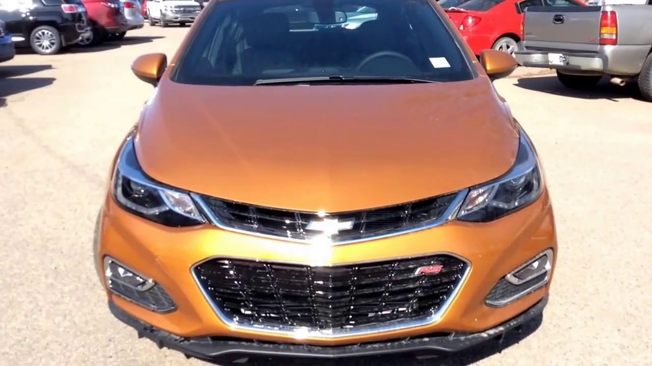 2017 Chevrolet Cruze Premier With Convenience Package Rs Remote Start And More