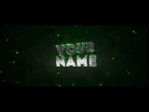 Free 3D Intro #212 | Blender Template