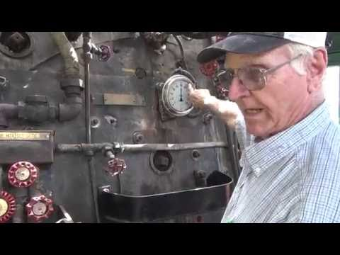 How to drive a Steam Powered Locomotive