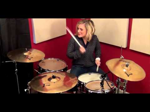 Hunter Hayes ~ I Want Crazy Drum Cover by Beka the Drummer