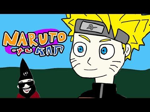 Naruto Shippuden Opening 16 - Paint Version - Silhouette