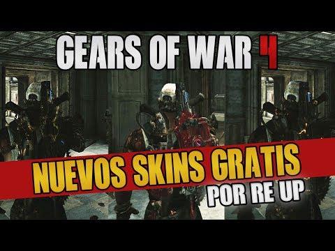 NUEVOS SKINS GRATIS POR CADA RE-UP | PRESTIGIO | GEARS OF WAR 4