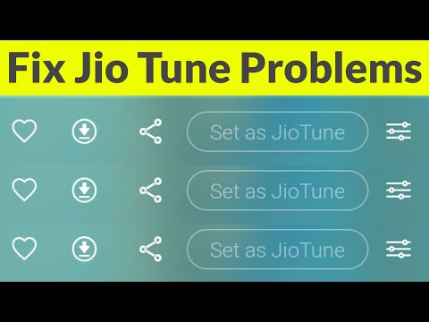 Set Any Song As Caller Tune In Jio & Fix Set As Jio Tune Option Greyed Out(No Jio Tune Available)