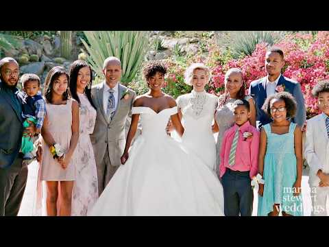 Samira Wiley Takes Us Inside Her Wedding Day |  Martha Stewart Weddings