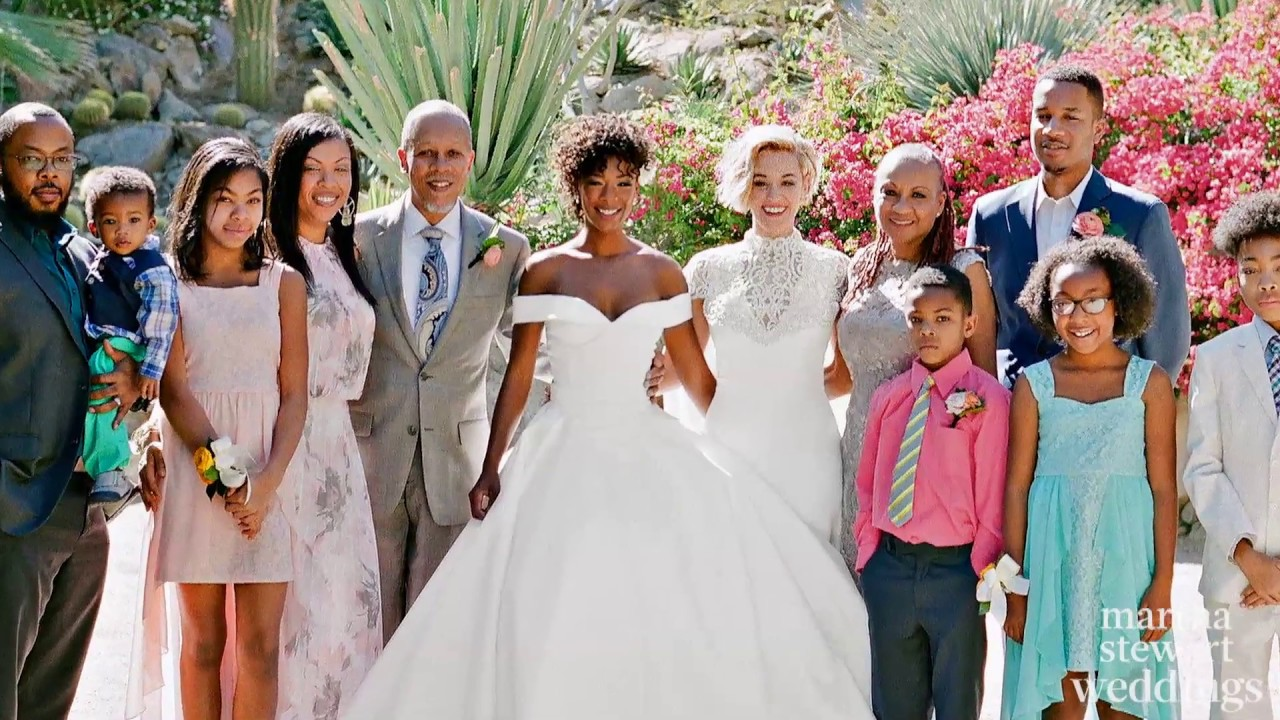 Samira Wiley Takes Us Inside Her Wedding Day
