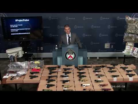 @TorontoPolice 'Project Patton' Gang Arrests Update | Friday, June 22nd, 2018