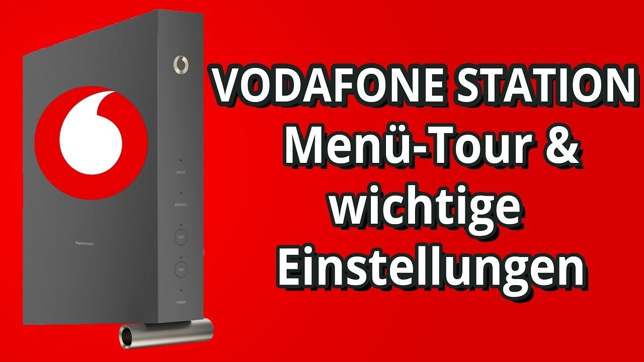 Vodafone Station - Vodafone Station Einrichten - Menü-Tour & wichtige  Einstellungen