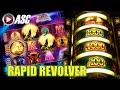 *NEW* RAPID REVOLVER: NORTHERN TREASURE   Konami - NICE Win! Slot Machine Bonus