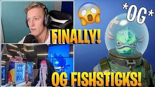 Streamers REACT to the *OG* Leviathan Skin Coming Back to Fortnite! *RARE*