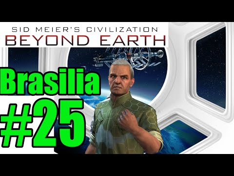 Let`s Play Civilization: Beyond Earth as Brasilia Part 25 Construct the gate!