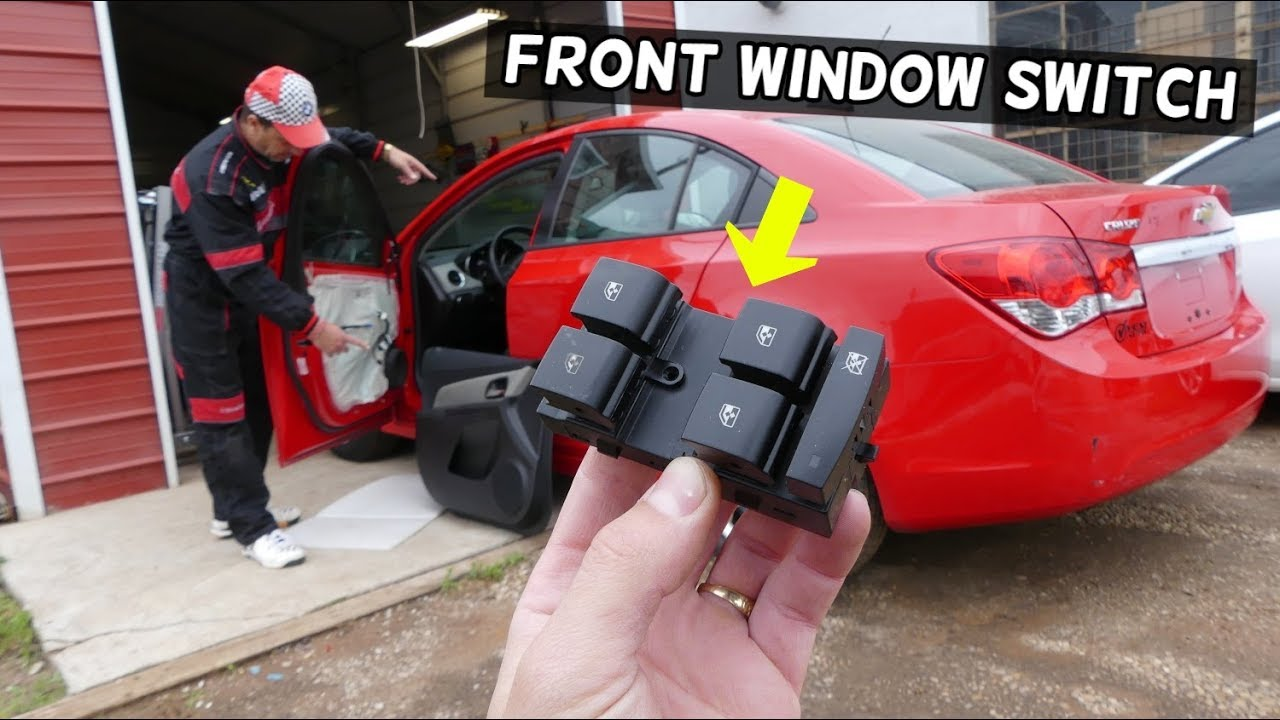 Chevrolet Cruze Front Master Window Switch Rpelacement Removal Window Not Working Fix Chevy Cruze Youtube