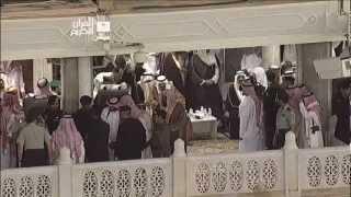 صلاة الجنازة على الأمير نايف في المسجد الحرام
