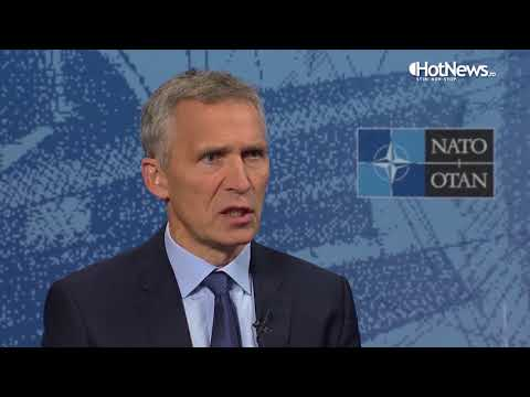 Interviu HotNews ro  - Jens Stoltenberg, secretar general al NATO