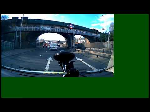 Driving from Enfield to Edgware - North London - UK (23-02-2018)