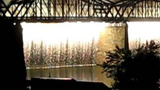 WEBN Fireworks 2009 - Bridge Fireworks Waterfall (High Quality)