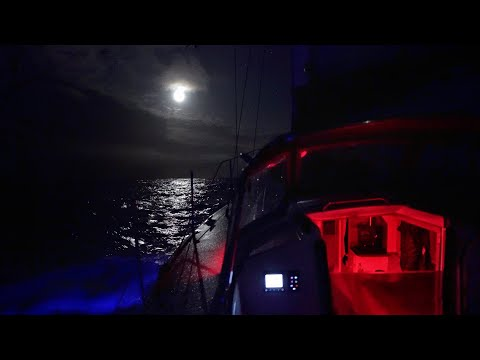 How We Sail At Night Day4 North Atlantic Crossing
