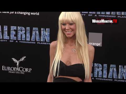 Tara Reid 'Valerian and The City Of A Thousand Planets' LA Film premiere