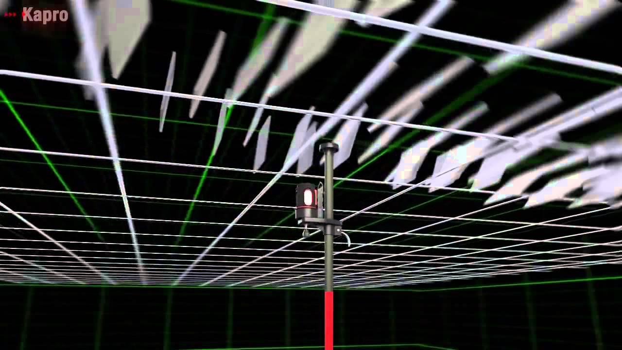 Kapro 888 3 Beam Laser Level, for framing rooms, aligning windows ...