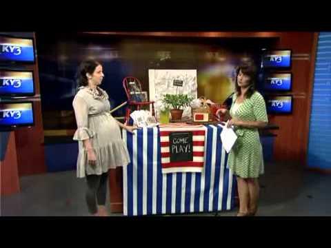 Sharon Taylor Backyard Summer Soirees On Ky3 Wmv Youtube