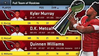 How Long For a Team of NFL Rookies to Win the Super Bowl Madden 20