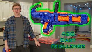SHOOTING 430 NERF DARTS AS FAST AS POSSIBLE #15 | Elite Titan YouTube Videos