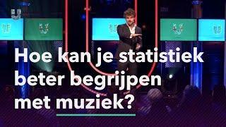 Hoe kan je statistiek beter begrijpen met muziek?
