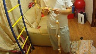 Веревочная лестница с пластиковыми трубами - без стружки и пыли(Для создания веревочной лестницы я использовал пластиковые армированные трубы с внешним диаметром 26 мм...., 2016-06-24T09:42:05.000Z)