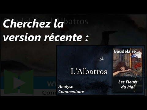 Baudelaire les fleurs du mal 1857 l 39 albatros - Commentaire compose le dormeur du val ...