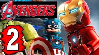 LEGO Marvel's Avengers Walkthrough Part 2 Gameplay Lets Play XBOX  PS4 PC [HD]