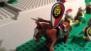 Lego Romans 9AD The battle of Teutoburg forest