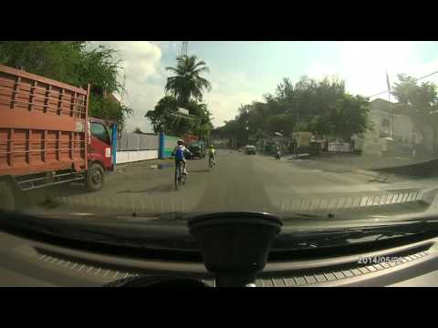 Cycling in balikpapan - endurance practice