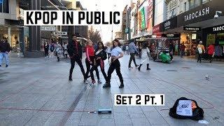 KPOP IN PUBLIC | ABK Crew Busking | Set Two Part One