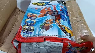 Unboxing Mainan Tobot Giga Seven Toys Cars Transformers