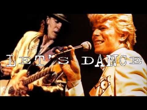 David Bowie - Let´s Dance Isolated Guitar Solo (Stevie Ray Vaughan)