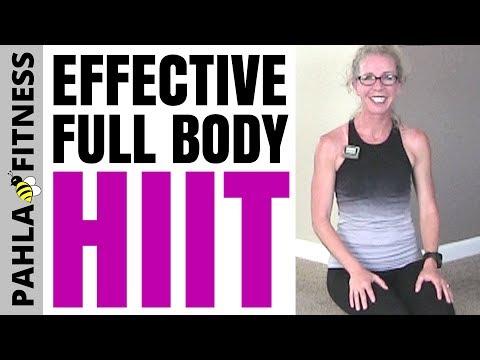 full body beginner hiit  30 minute no equipment cardio